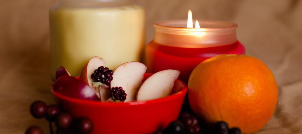 luscious fruits candles