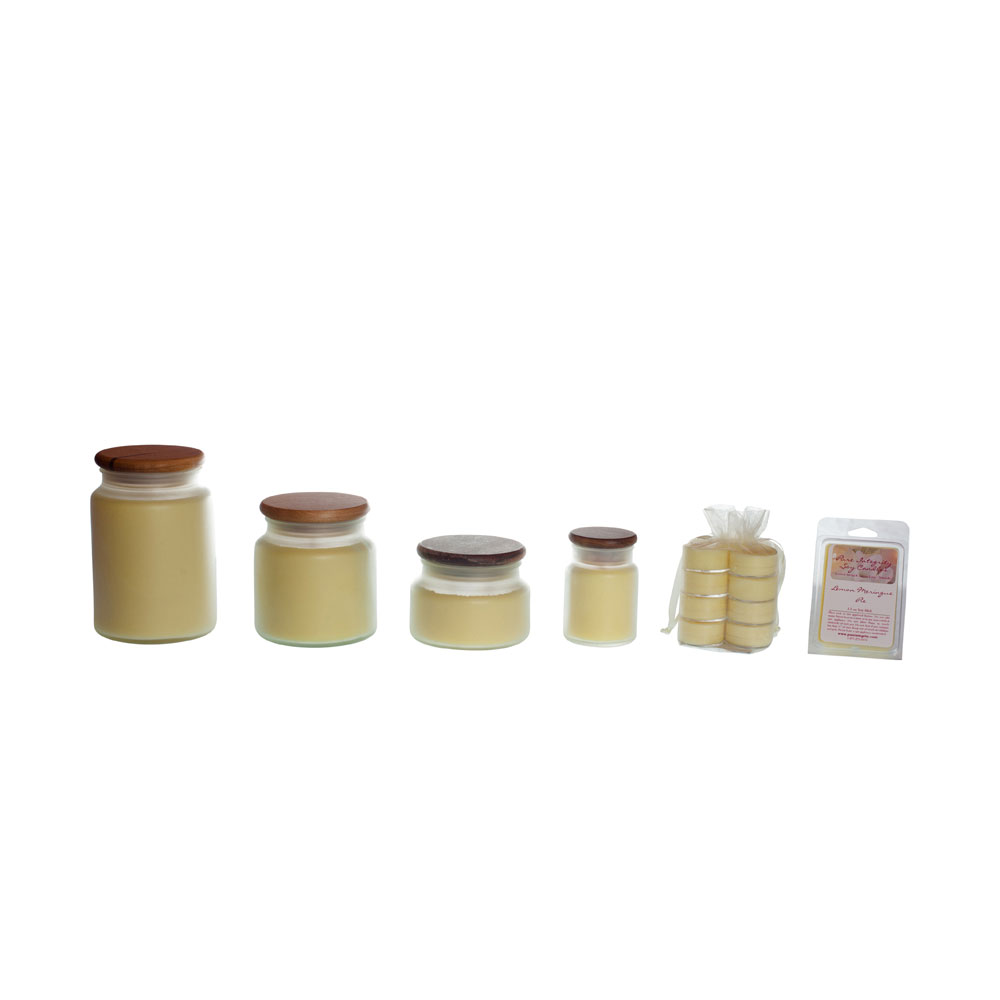 Lemon Meringue Pie Soy Candles 20% OFF! Use Coupon Code 20