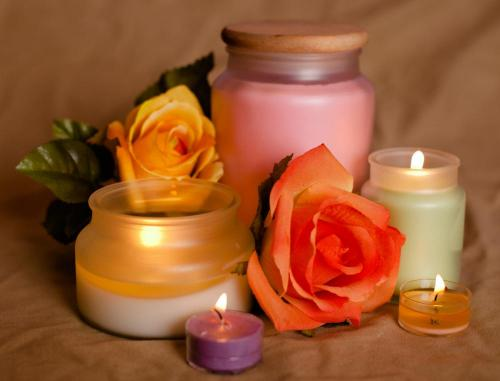 variety of candle fragrances