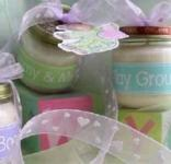Neutral Baby Shower Favors