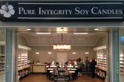 pi soy candles retail store ny