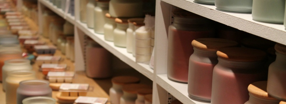 soy candles in store